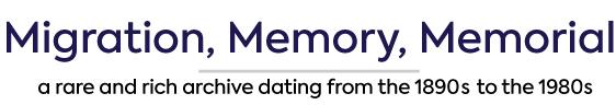 migration memory memorial
